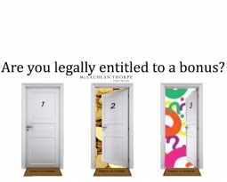 Are you legally entitled to a bonus?