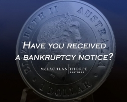 Have you received a bankruptcy notice?