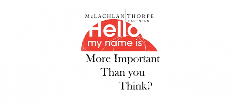 The Importance of a Name: